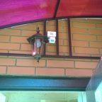 Монтаж датчика движения, установка уличного светильника