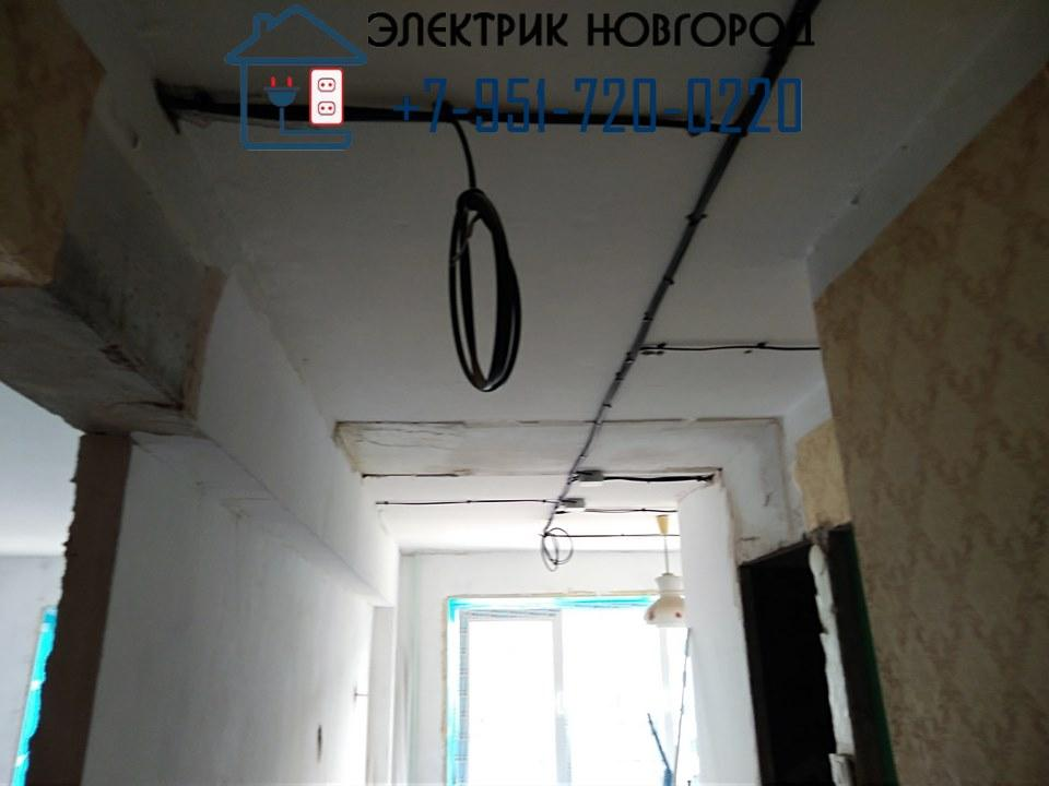разводка кабелей в кирпичном доме