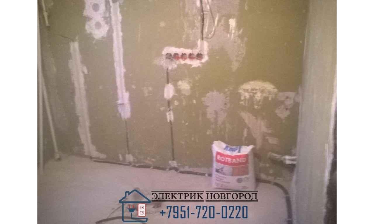 Электропроводка кухни в панельном доме