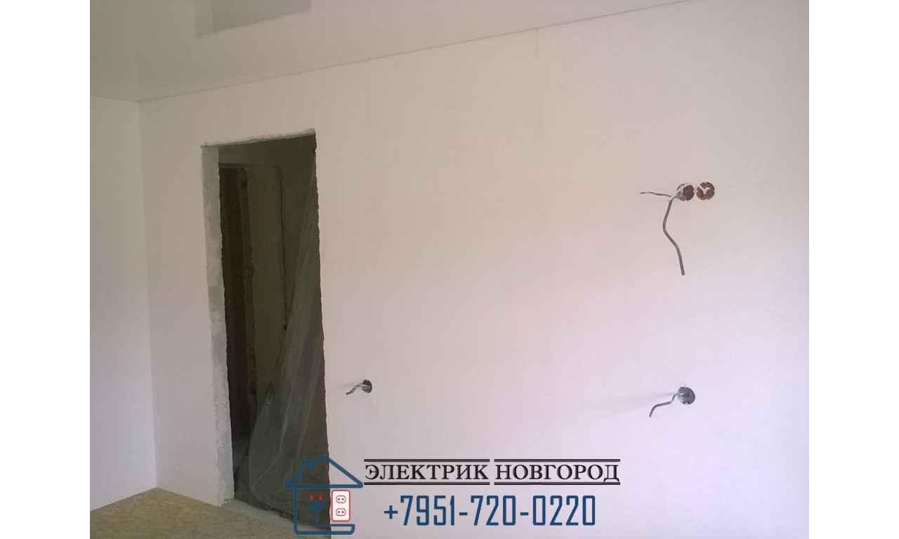 Замена электропроводки в 1 комнатной квартире