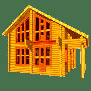 Монтаж электропроводки в доме из бревна