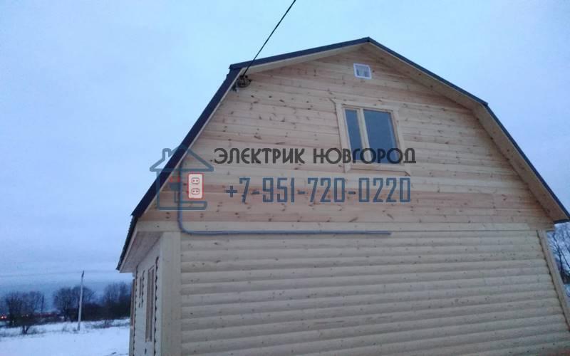 Подключение дома к электросетям